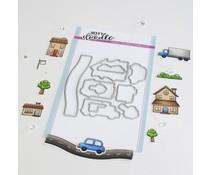 Heffy Doodle Home Sweet Home Dies (HFD0360)