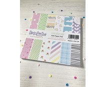 Time For Tea Brighter Days 6x6 Inch Paper Pack (T4T/621/Bri/Pap)
