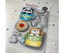 Time For Tea Tearrific Pals Clear Stamps (T4T/649/Tea/Cle)