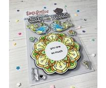 Time For Tea Brighter Days Clear Stamps (T4T/651/Bri/Cle)