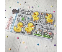 Time For Tea Lucky Ducks Clear Stamps (T4T/661/Luc/Cle)