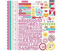 Bella BLVD My Candy Girl Doohickey Cardstock Stickers (BB2382)