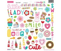 Bella BLVD My Candy Girl Chipboard Icons (BB2384)