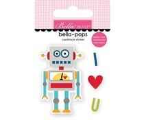 Bella BLVD Mr. Robot Bella-pops (BB2414)