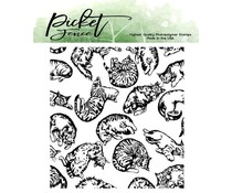 Picket Fence Studios This Cat is for You Clear Stamps (A-155)