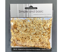 Simple and Basic Gold Sequin Mix (SBS103)