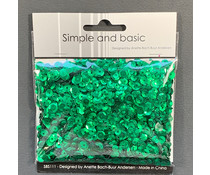 Simple and Basic Green Sequin Mix (SBS111)