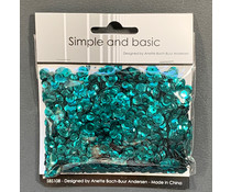 Simple and Basic Jade Green Sequin Mix (SBS108)