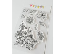 Jane's Doodles Wild Flowers Clear Stamps (JD069)