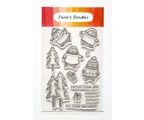 Jane's Doodles Sweater Weather Clear Stamps (JD085)
