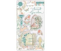 Craft Consortium Secret Garden Clear Stamps (CCSTMP060)