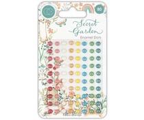 Craft Consortium Secret Garden Enamel Dots (CCADOT013)