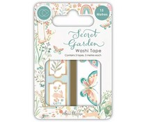 Craft Consortium Secret Garden Washi Tape (CCWTPE010)