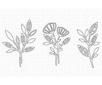 My Favorite Things In-Focus Florals Die-namics (MFT-2008)