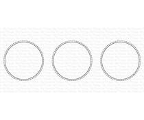 My Favorite Things Slimline Stitched Circle Trio Die-namics (MFT-2007)