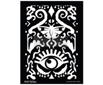 Re-Design with Prima All Seeing Ikat Pattern 18x25.5 Inch Decor Stencils (654351)