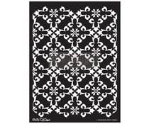 Re-Design with Prima Gothic Trellis 18x25.5 Inch Decor Stencils (654382)