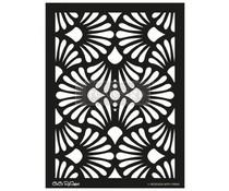 Re-Design with Prima Modern Deco 18x25.5 Inch Decor Stencils (654399)