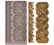 Re-Design with Prima Border Lace 5x10 Inch Mould (654344)