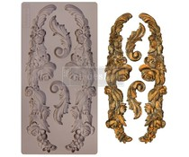 Re-Design with Prima Delicate Floral Strands 5x10 Inch Mould (654610)