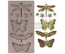 Re-Design with Prima Insecta & Stars 5x10 Inch Mould (652432)