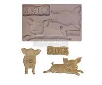 Re-Design with Prima Farm Friends 5x8 Inch Mould (652241)