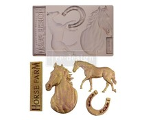 Re-Design with Prima Majesty Beauty 5x8 Inch Mould (652036)