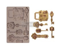Re-Design with Prima Mechanical Lock & Keys 5x8 Inch Mould (652159)