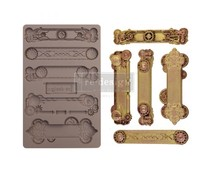 Re-Design with Prima Steampunk Plates 5x8 Inch Mould (652166)
