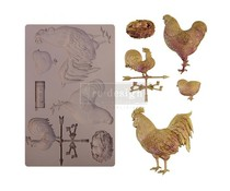 Re-Design with Prima Sunny Morning Friends 5x8 Inch Mould (652067)