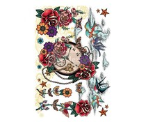 Re-Design with Prima Inked Flash 24x35 Inch Decor Transfers (652265)