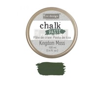 Re-Design with Prima Kingdom Moss Chalk Paste (651770)