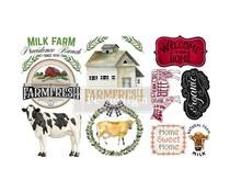 Re-Design with Prima Home & Farm 6x12 Inch Decor Transfers (653446)