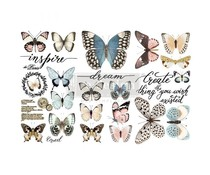 Re-Design with Prima Papillon Collection 6x12 Inch Decor Transfers (653385)