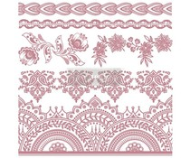 Re-Design with Prima Decor Clear Stamps 12x12 Inch Bohemian Florals (652647)
