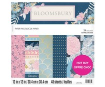 Craft Smith Bloomsbury 12x12 Inch Paper Pad (MSE7223)