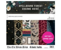 Craft Smith Spellbound Forest 12x12 Inch Paper Pad (MSE7220)