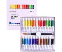 Trimcraft Nova Premium Acrylic Paints (24pcs) (NVMXM001)