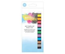Docrafts Artiste Soft Pastels (12pcs) (DOA 551010)
