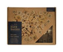 Papermania Bare Basics Wooden Tile Letters (600pcs) (PMA 174595)