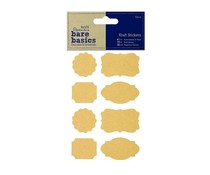 Papermania Bare Basics Craft Stickers Parenthesis (32pcs) (PMA 806203)