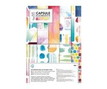 Papermania Capsule Elements Pigment A4 Ultimate Die-cut & Paper Pack (PMA 160260)