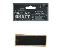 Papermania Chalkboard Hessian Tags (6pcs) (PMA 355416)