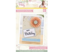 Crafter's Companion Garden Party Metal Die Beautiful Rosette (S-GP-MD-BEAR)
