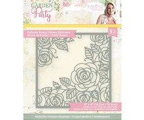 Crafter's Companion Garden Party Metal Die Delicate Roses (S-GP-MD-DELR)