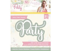 Crafter's Companion Garden Party Metal Die Party (S-GP-MD-PART)
