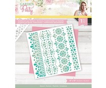 Crafter's Companion Garden Party Stencil Traditional Lace Borders (S-GP-STEN-TRLB)