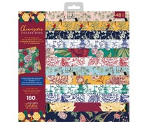 Crafter's Companion Chinoiserie Collection 12x12 Inch Paper Pad (NG-CHI-PAD12)