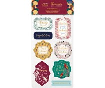 Crafter's Companion Chinoiserie Collection 3D Die-Cut Toppers (NG-CHI-3D-DTOP)