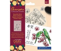 Crafter's Companion Chinoiserie Collection Clear Stamps Beautiful Birds (NG-CHI-STP-BBIR)